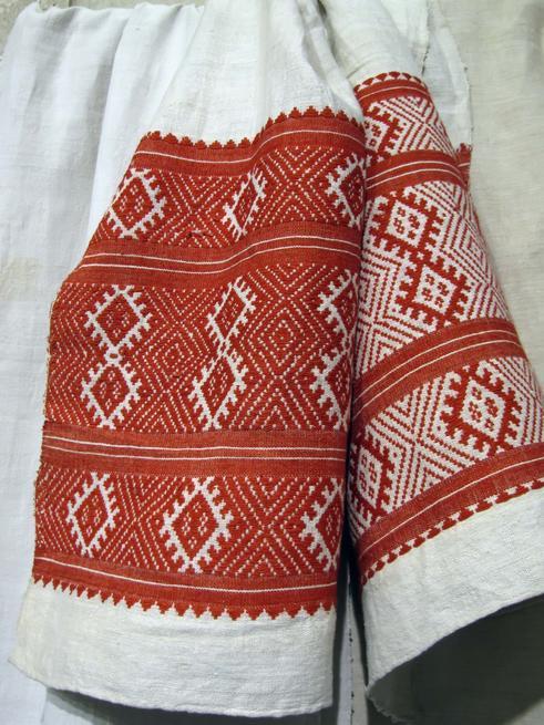 Ручное ткачество. Домотканое полотенце::Казанское полотенце