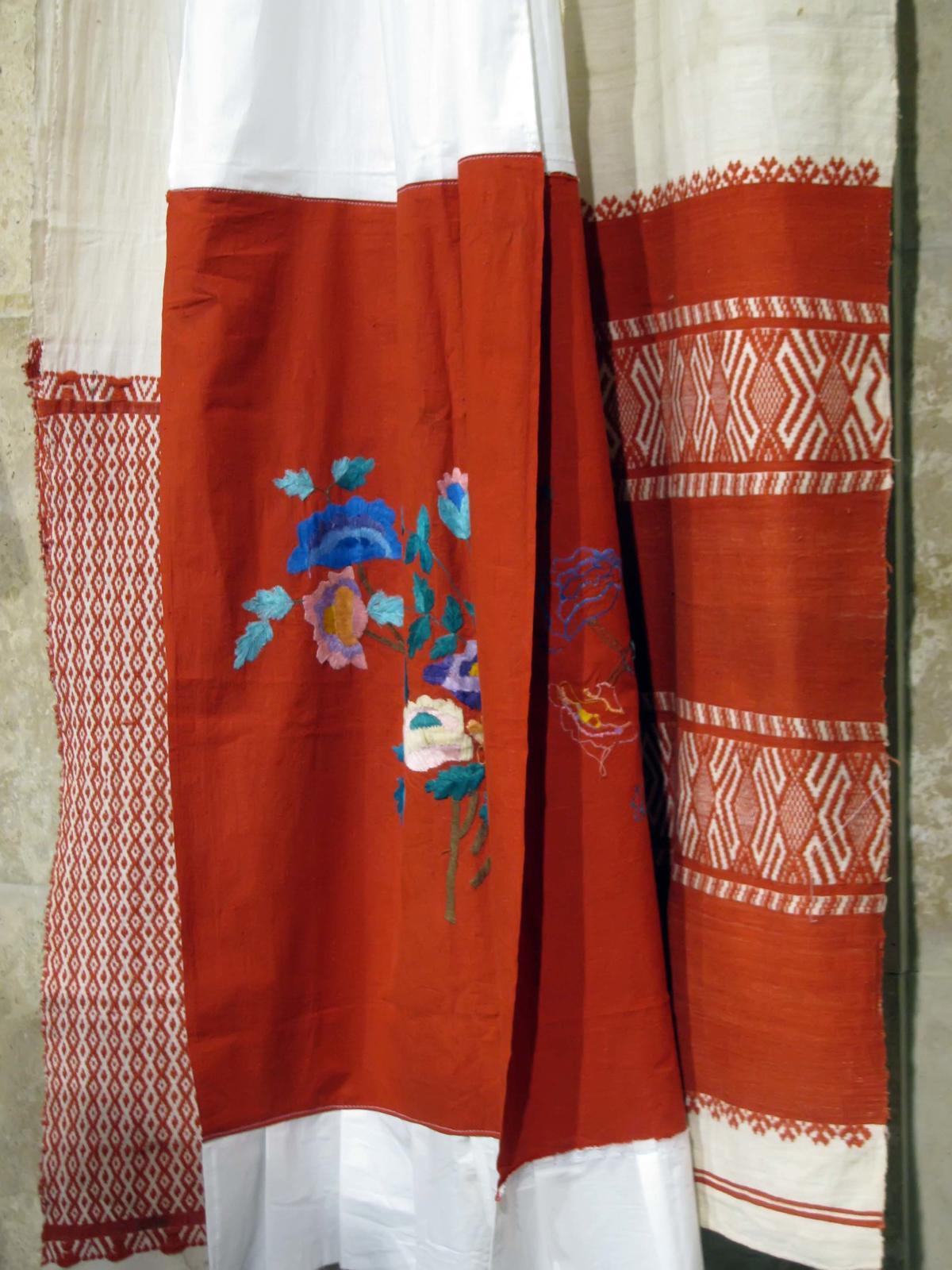 Фото №38148. Домотканое полотенце, полотенце с вышивкой