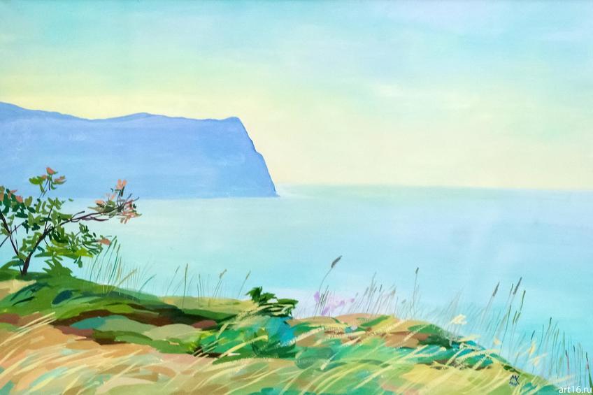 Фото №895498. Утренние травы. Мыс Фиолент. 2015. Медведева С.Б.