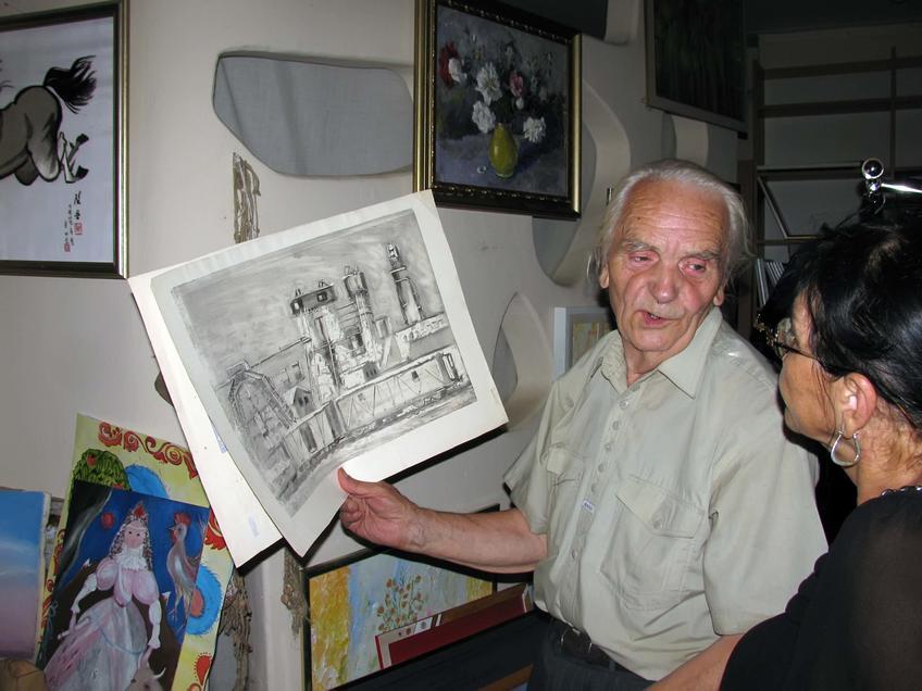 Фото №58462. Графическая работа в руках В.Кочунова