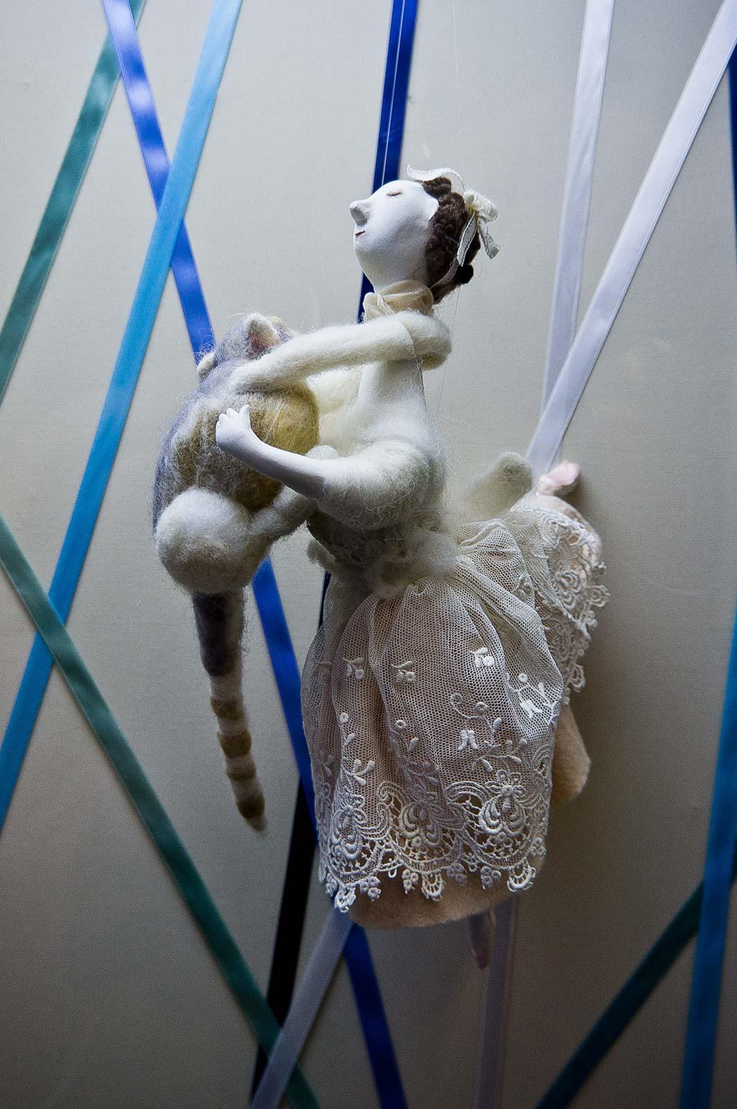 Фото №89621. Балерина с котом. Елена Ермолина