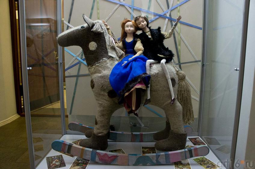 Фото №89656. Тристан и Изольда. Милана Королева, лошадка - Е.Ермолина, М.Королёва