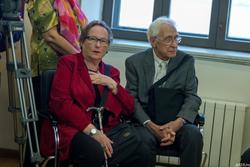 Надин Грегуар-Бестужева с супругом