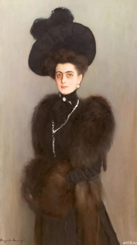 Фото №897335. Портрет княгини Марии Павловны Абамелек-Лазаревой (1900-1901). Н.П. Богданов-Бельский (1868-1945)