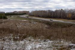 Дорога в Арск. Первый снег