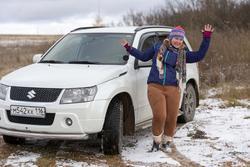 Радость первого снега. Е. Сунгатова