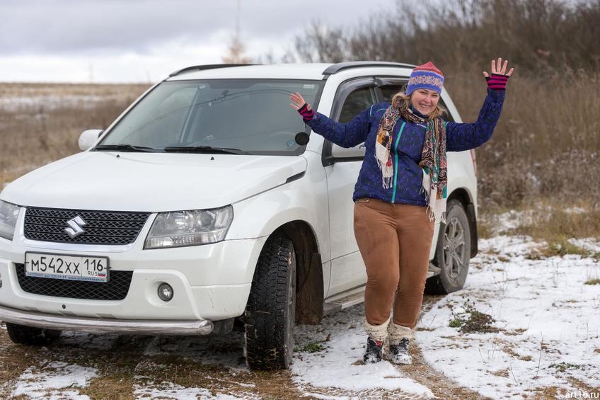 Фото №897889. Радость первого снега. Е. Сунгатова