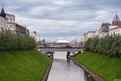Булак. Вид на Казанский цирк. Октябрь 2016