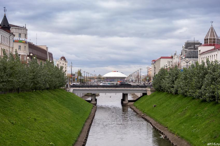 Фото №898527. Булак. Вид на Казанский цирк. Октябрь 2016