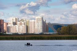 Казанка. Дворец водных видов спорта ( Сибгата Хакима, 70)