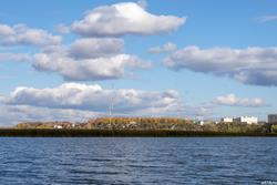 Казанка, вид на Советский район