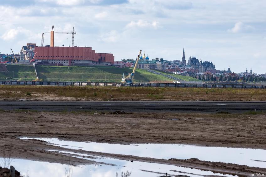 Вид на Кремль от м. Миллениум, октябрь 2016::Казань, осень, природа