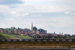Вид на Кремль от м. Миллениум, октябрь 2016