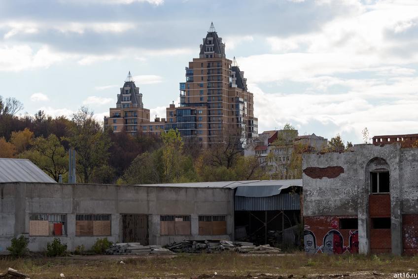 Фото №898636. Городской пейзаж. Вахитовский р-он, октябрь 2016