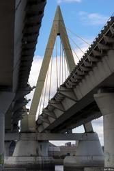 Мост Миллениум, октябрь 2016