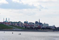 Вид на Казанский кремль, октябрь 2016