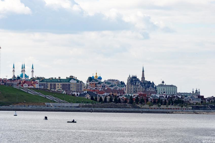 Вид на Казанский кремль, октябрь 2016::Казань, осень, природа