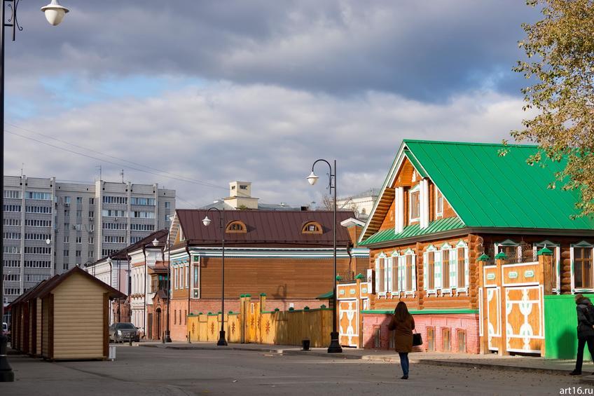 Старо-Татарская слобода, ул. Каюма Насыри, октябрь 2016::Казань, осень, природа