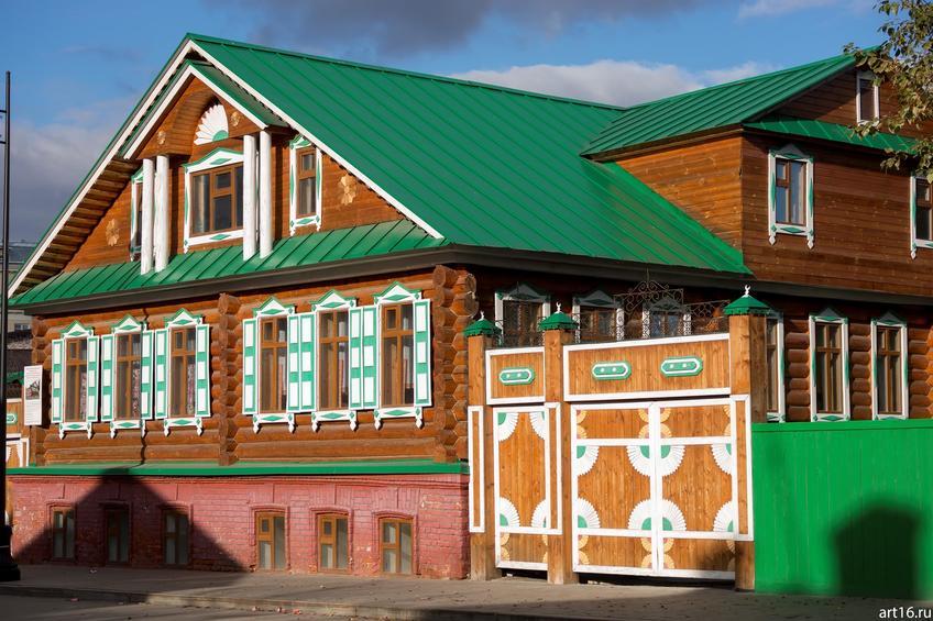 Старо-Татарская слобода, ул. Каюма Насыри, 11, октябрь 2016::Казань, осень, природа