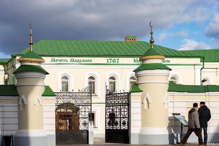 Мечеть Аль-Марджани (фрагмент), октябрь 2016::Казань, осень, природа