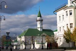 Мечеть Аль-Марджани, Казань, октябрь 2016