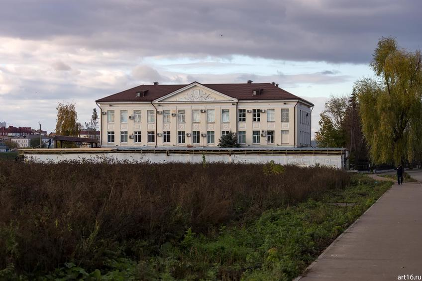 Ул. Хади Такташ, 58::Казань, осень, природа