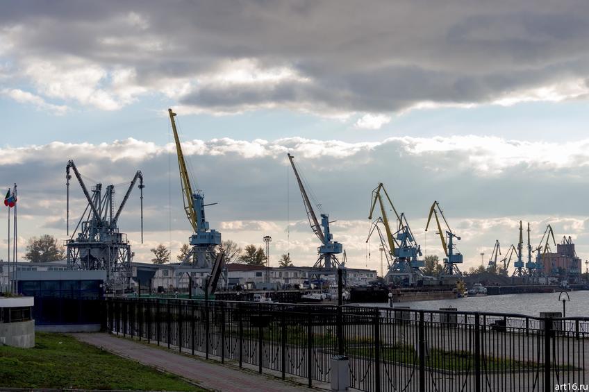 Фото №898808. Речной порт, Казань, октябрь 2016