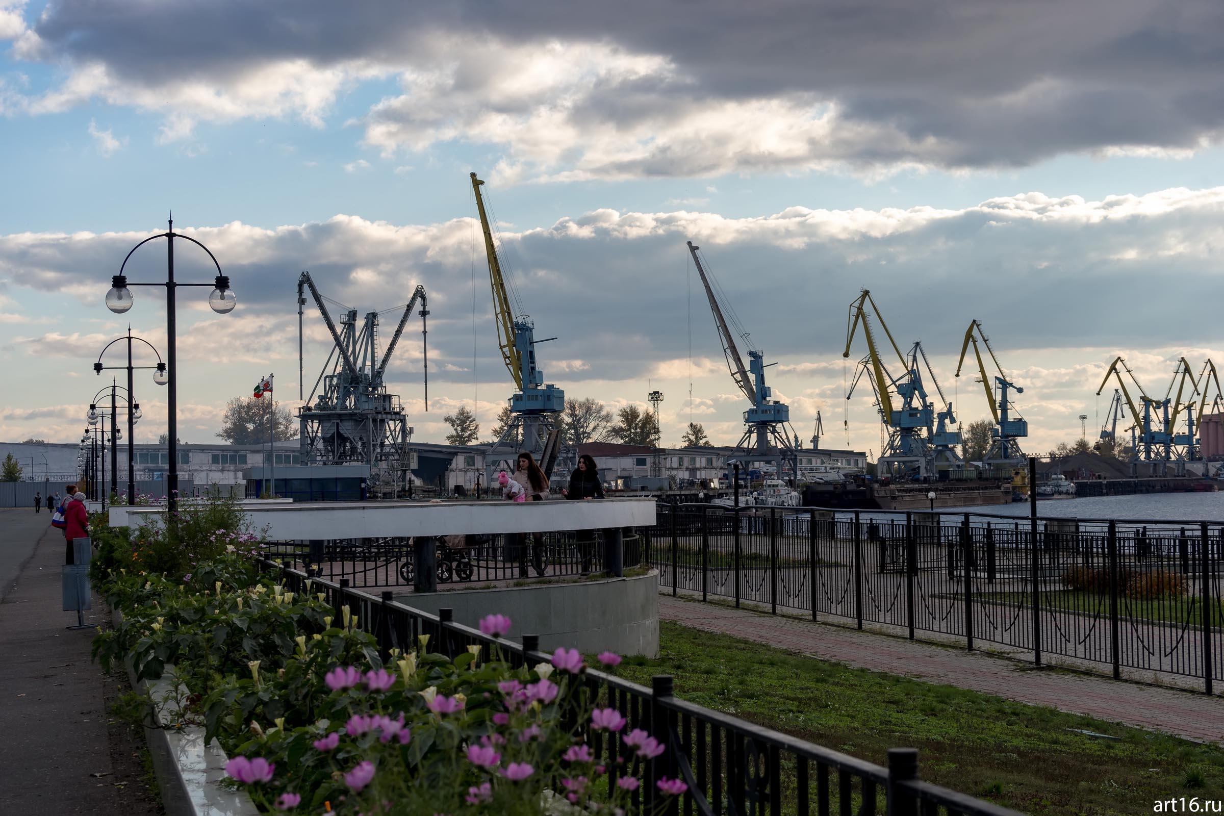 Речной порт, Казань, октябрь 2016::Казань, осень, природа