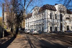 Переулок Саначина, Казань, октябрь 2016
