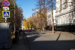 Ул. Толстого, Казань Октябрь 2016
