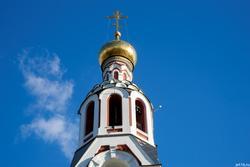 Колокольня. Церковь Варвары Великомученицы, К.Маркса, 67. Октябрь 2016
