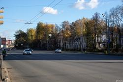 Ул. Николая Ершова, Казань, октябрь