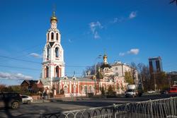 Церковь Варвары Великомученицы. Казань, К.Маркса, 67
