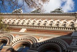 Казанское художественное училище им. Н.Фешина (фрагмент здания)