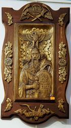 Перун (дерево, резьба). Сергей Каменев
