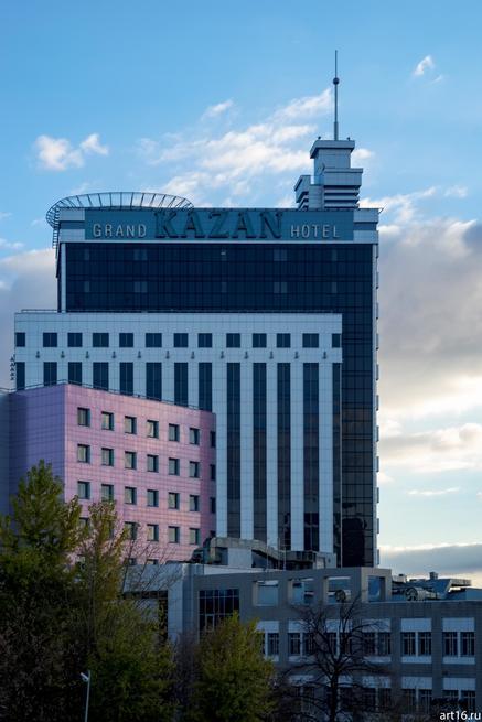 Гранд Отель Казань,  Петербургская, д. 1.::Казань, осень, прогулка