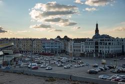 Вид на площадь Тукая. Бывшая Куйбышева