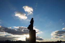 Памятник Вахитову на Кольце. Казань, октябрь 2016