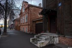 Крыльцо. Ул. Ульянова-Ленина, д. 35