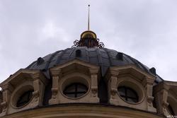 Ротонда на Петербургской, фрагмент; Казань
