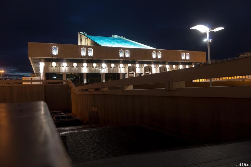 Театр Камала. Казань, ночь::Казань, закат, сумерки, ночь