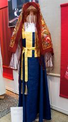 Венчальный костюм невесты, Пермский край, Верхнекамье, XIX (реконструкция)