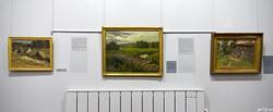 Фрагмент экспозиции выставки Константина Коровина