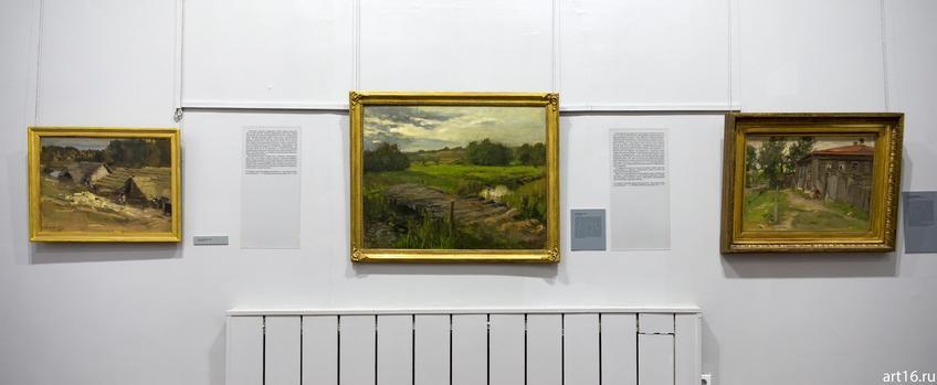 Фото №900582. Фрагмент экспозиции выставки Константина Коровина
