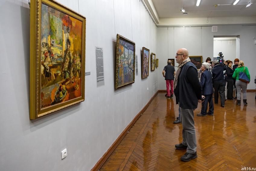 Фото №900678. Экспозиция выставки Константина Коровина