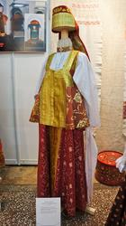 Костюм невесты Северной губернии России (реконструкция)