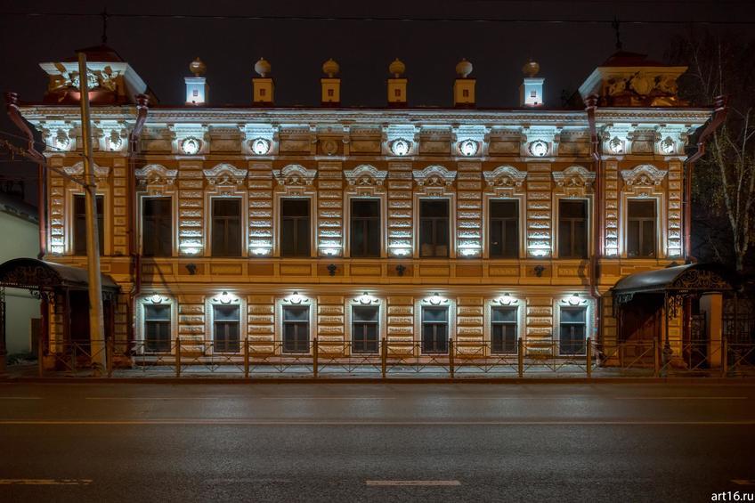 Дом на ул. Московской, Казань, ноябрь 2016::Казань, осень, природа