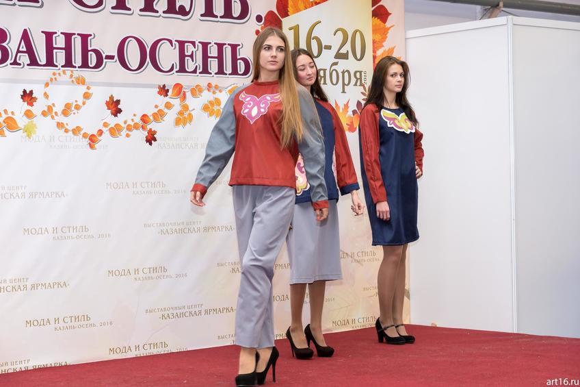 Фото №901409. Коллекция молодежной одежды в национальном татарском стиле