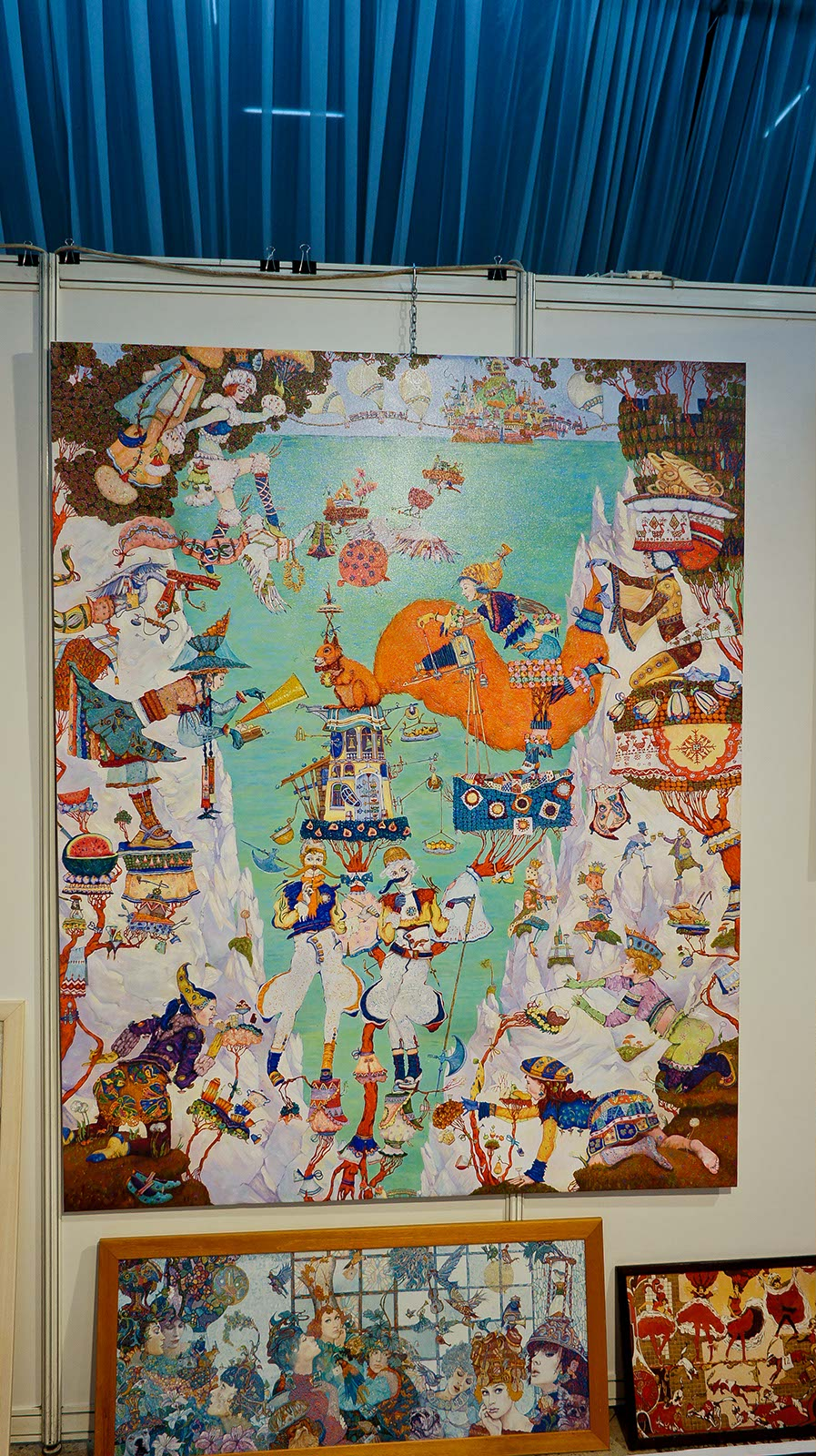 Фото №90236. Постеры с картин Петра Фролова (Санкт-Петербург)