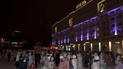 Парад снеговиков в Перми. Январь 2012